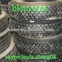 very cheap tyres flaw truck tyres 11R22.5 and 11r24.5 , blem tyres R22.5